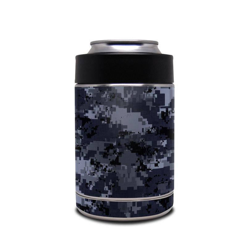 Digital Navy Camo Yeti Rambler Colster Skin