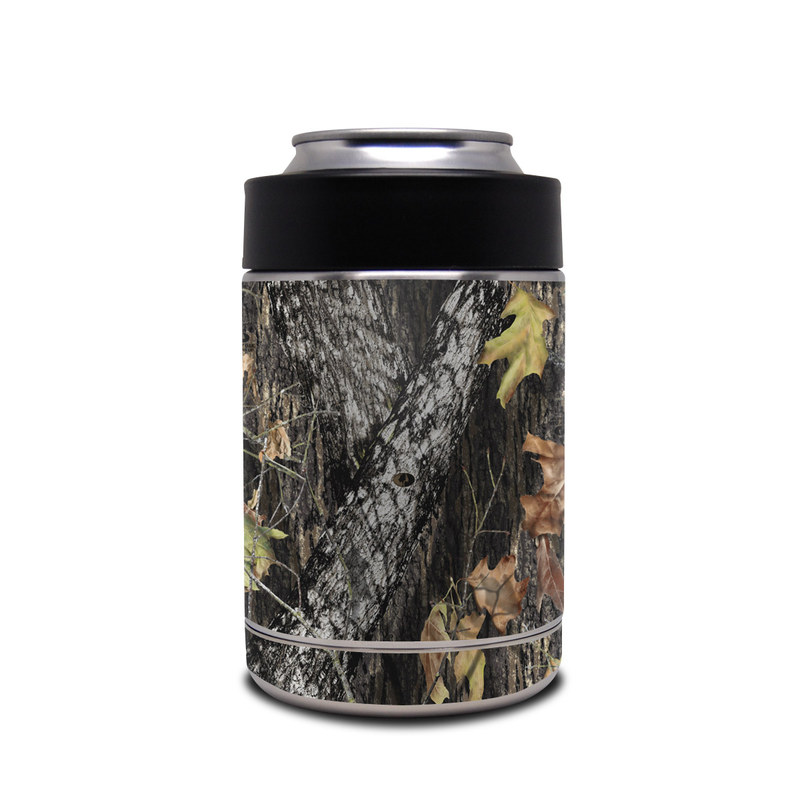 Yeti Rambler Colster Skin design of Leaf, Tree, Plant, Adaptation, Camouflage, Branch, Wildlife, Trunk, Root with black, gray, green, red colors