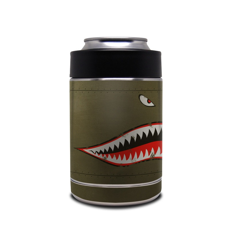 Yeti Rambler Colster Skin design of Red, Leaf, Plant, Illustration, Art, Carmine, Graphics, Perennial plant with black, red, gray colors