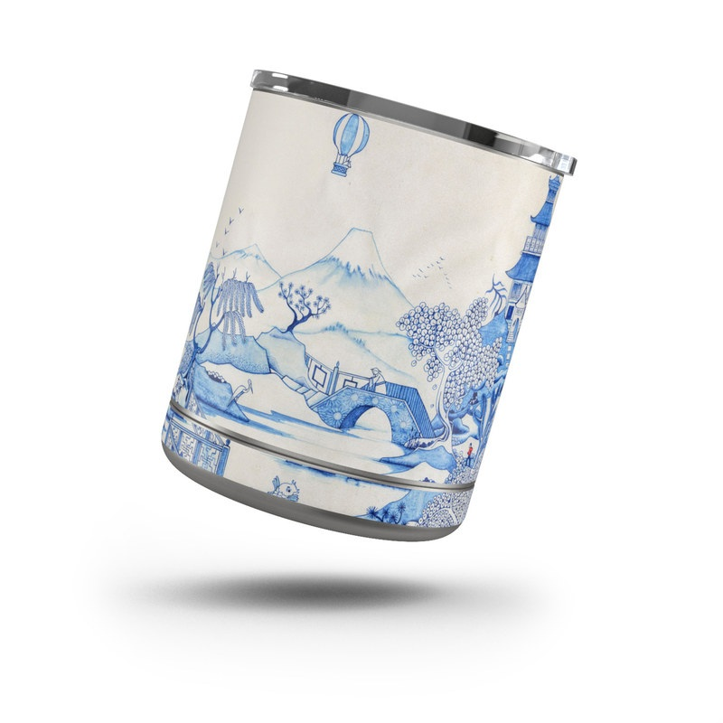 Blue Willow Yeti Rambler Lowball 10oz Skin