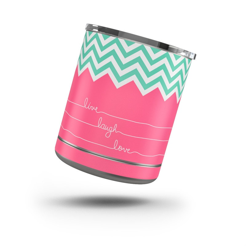 Live Laugh Love Yeti Rambler Lowball 10oz Skin