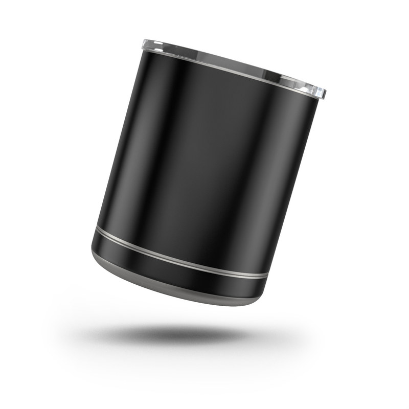 Yeti Rambler Lowball 10oz Skin design of Black, Darkness, White, Sky, Light, Red, Text, Brown, Font, Atmosphere with black colors