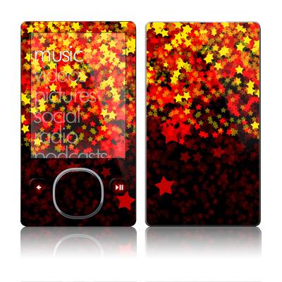 Stardust Fall Zune 80GB/120GB Skin