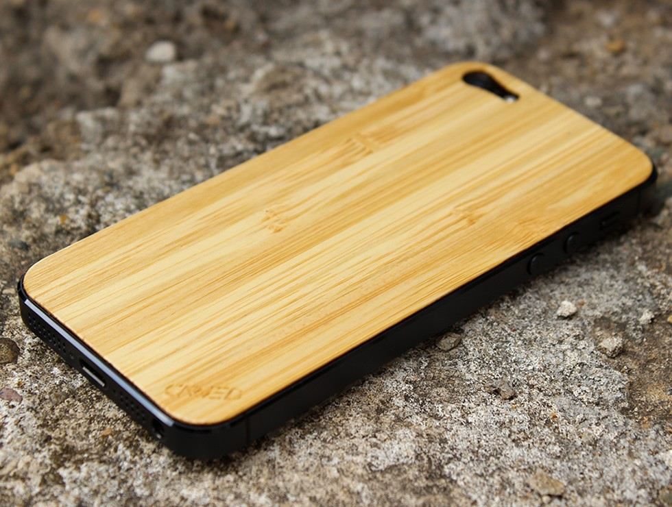 Natural Bamboo iPhone 5 Wood Skin