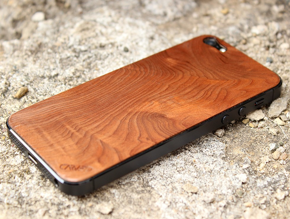 Redwood Burl iPhone 5 Wood Skin