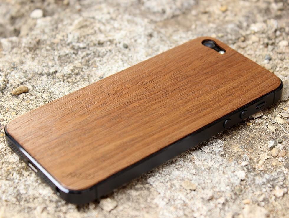 Walnut iPhone 5 Wood Skin