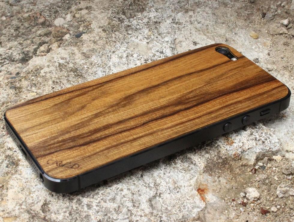Black Limba iPhone 5 Wood Skin