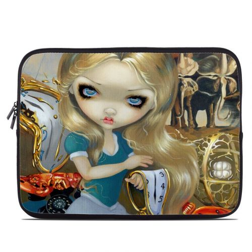 Alice in a Dali Dream Laptop Sleeve