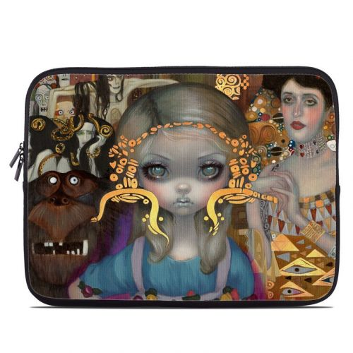 Alice in a Klimt Dream Laptop Sleeve