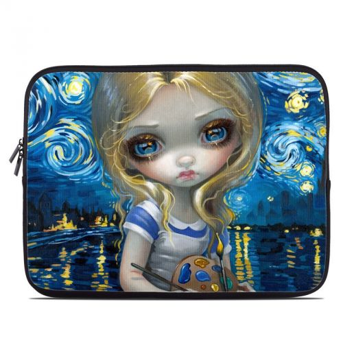 Alice in a Van Gogh Laptop Sleeve