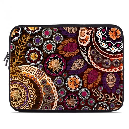Autumn Mehndi Laptop Sleeve