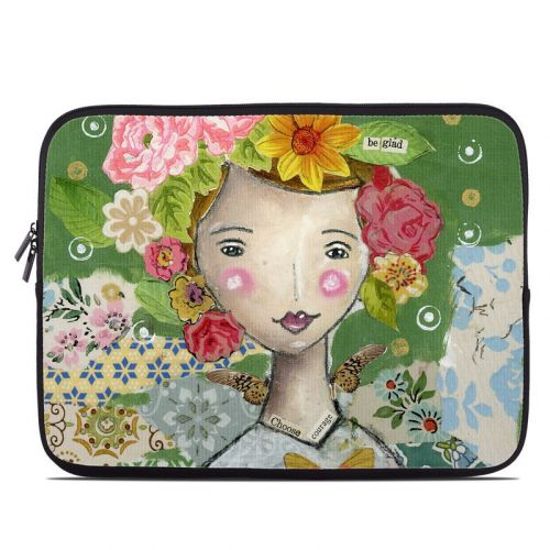 Be Glad Laptop Sleeve