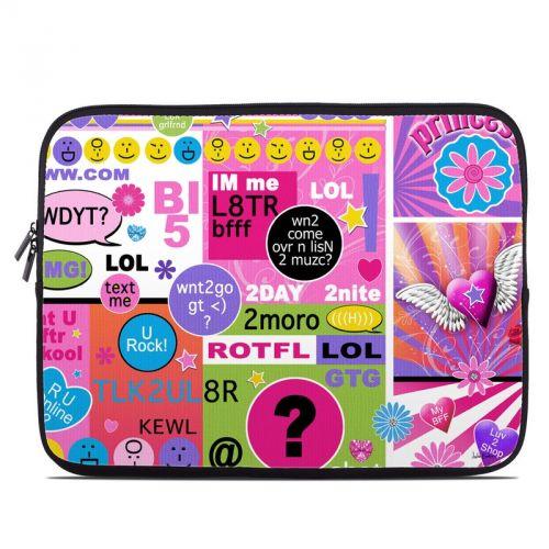 BFF Girl Talk Laptop Sleeve