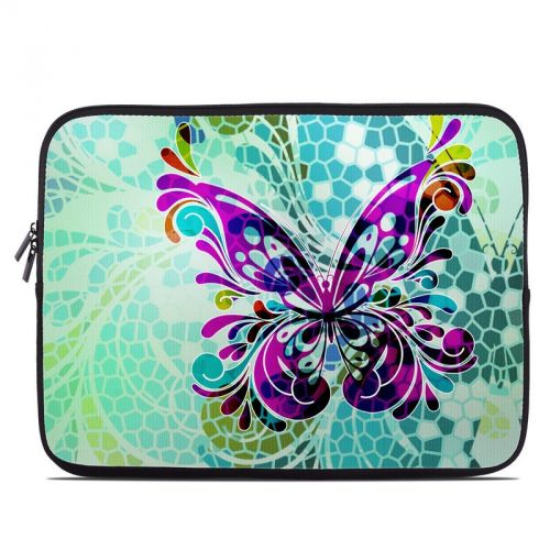 Butterfly Glass Laptop Sleeve