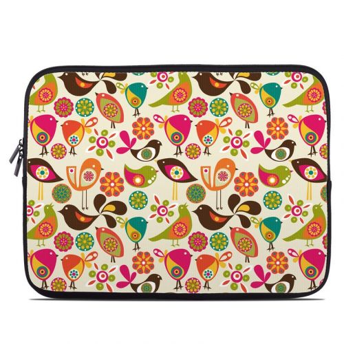 Bird Flowers Laptop Sleeve