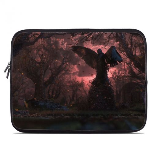 Black Angel Laptop Sleeve