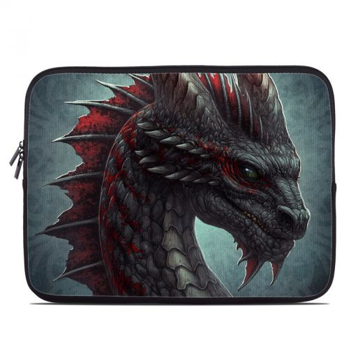 Black Dragon Laptop Sleeve