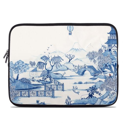 Blue Willow Laptop Sleeve