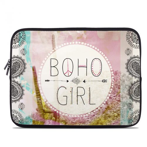 Boho Girl Laptop Sleeve