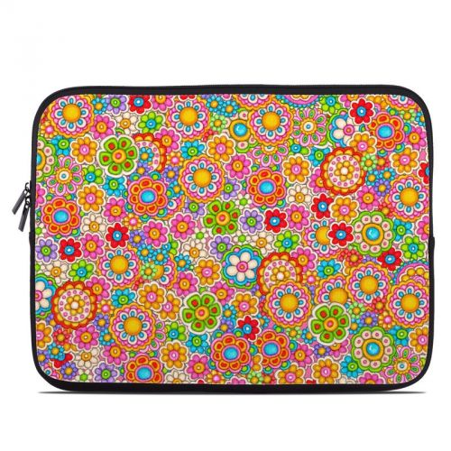 Bright Ditzy Laptop Sleeve