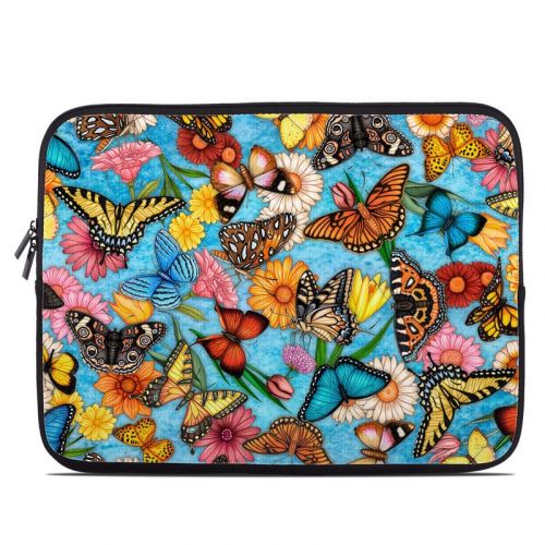 Butterfly Land Laptop Sleeve