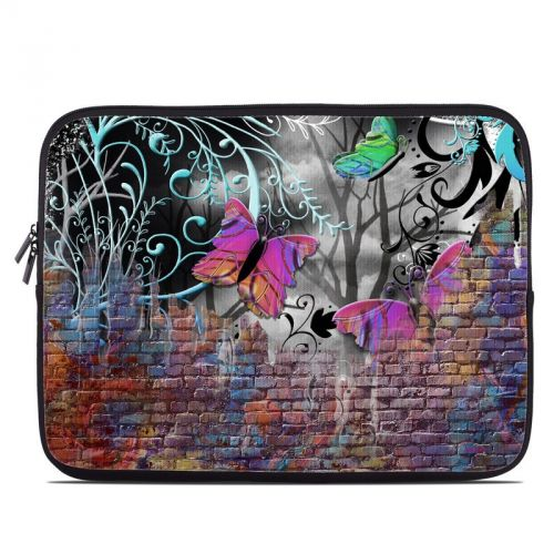 Butterfly Wall Laptop Sleeve