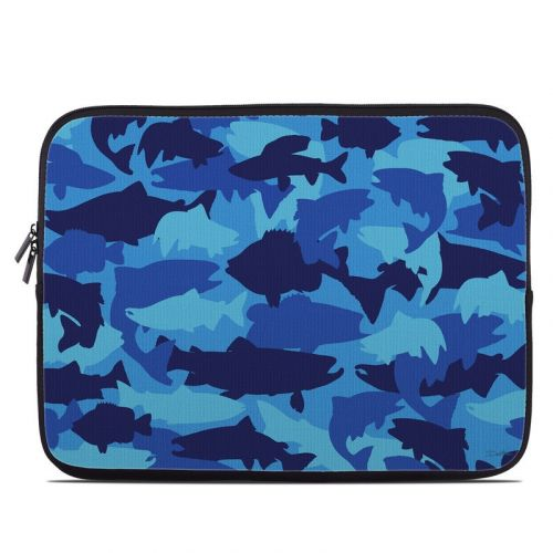 Camo Fish Laptop Sleeve