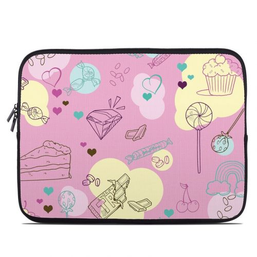 Pink Candy Laptop Sleeve