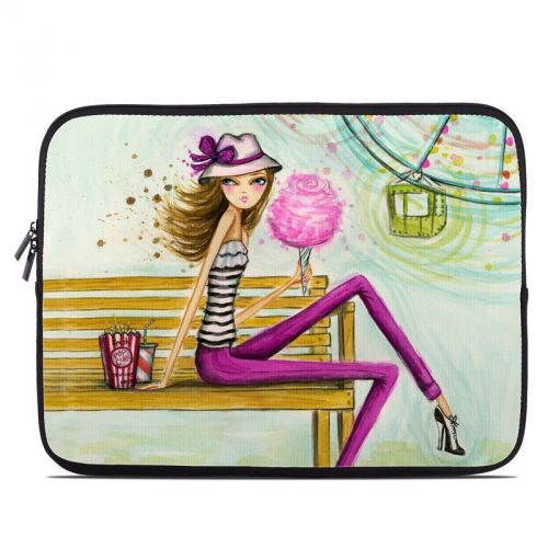 Carnival Cotton Candy Laptop Sleeve