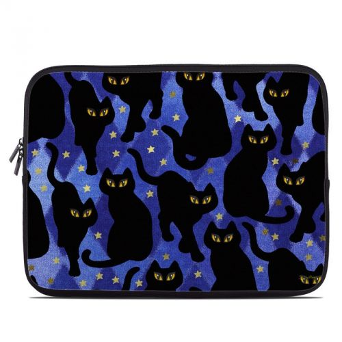 Cat Silhouettes Laptop Sleeve