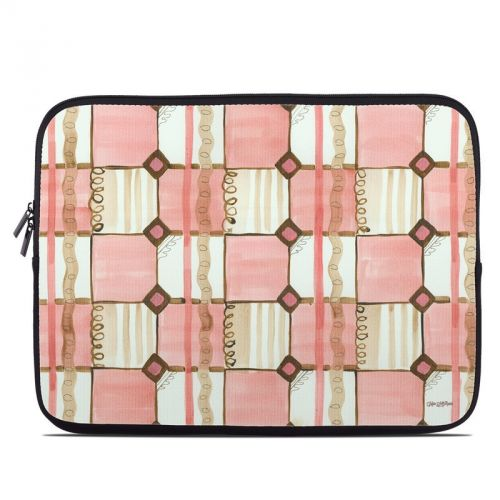 Chic Check Laptop Sleeve