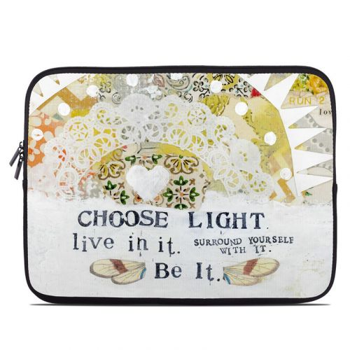 Choose Light Laptop Sleeve