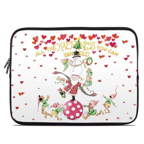 Christmas Circus Laptop Sleeve