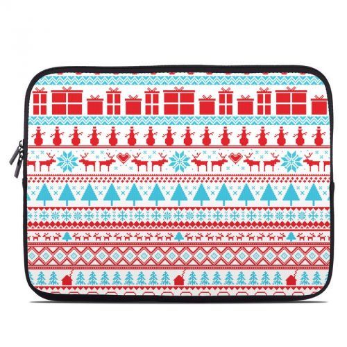 Comfy Christmas Laptop Sleeve