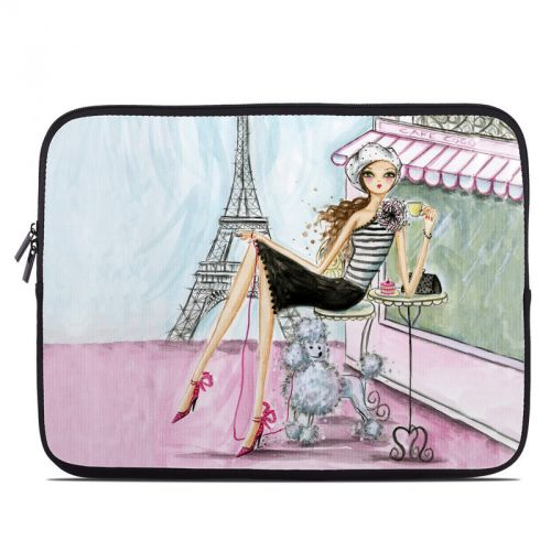 Cafe Paris Laptop Sleeve