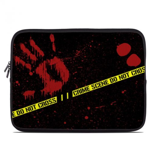 Crime Scene Laptop Sleeve