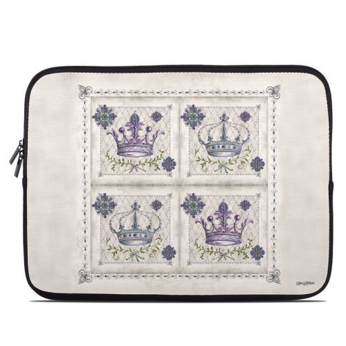 Purple Crown Laptop Sleeve