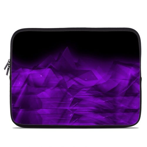 Dark Amethyst Crystal Laptop Sleeve