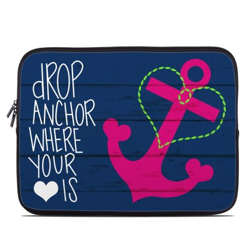 Drop Anchor Laptop Sleeve