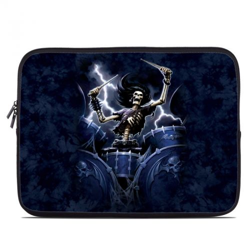 Death Drummer Laptop Sleeve