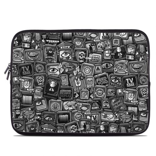 Distraction Tactic B&W Laptop Sleeve