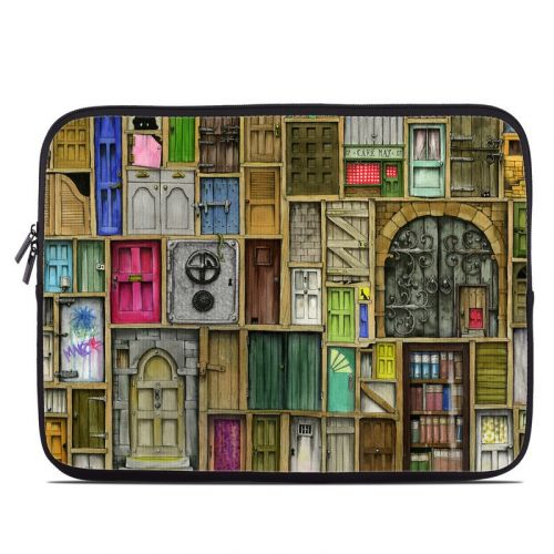 Doors Closed Laptop Sleeve