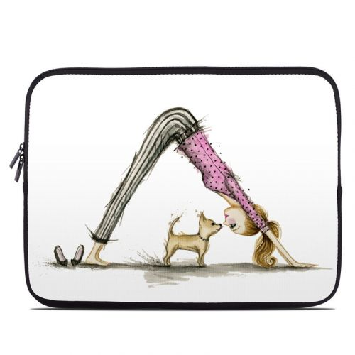Downward Dog Laptop Sleeve