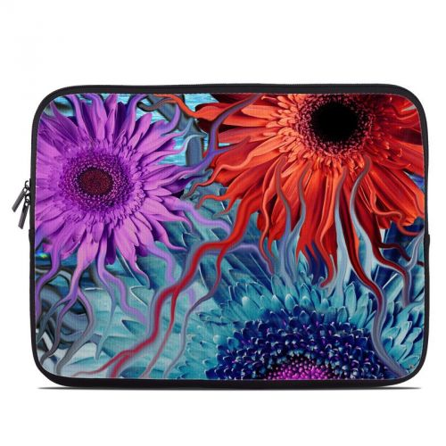 Deep Water Daisy Dance Laptop Sleeve