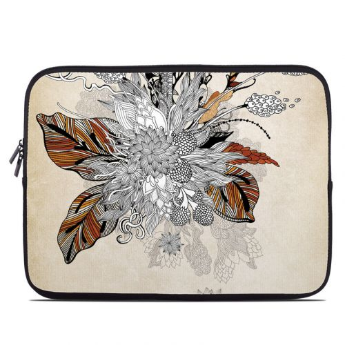 Fall Floral Laptop Sleeve