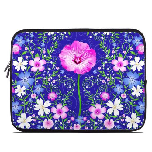 Floral Harmony Laptop Sleeve