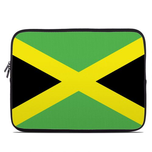 Jamaican Flag Laptop Sleeve