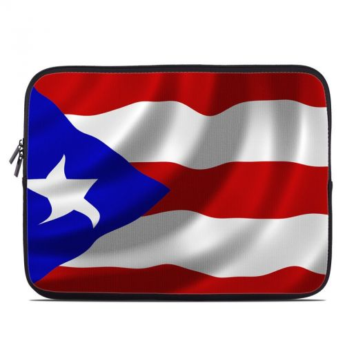 Puerto Rican Flag Laptop Sleeve