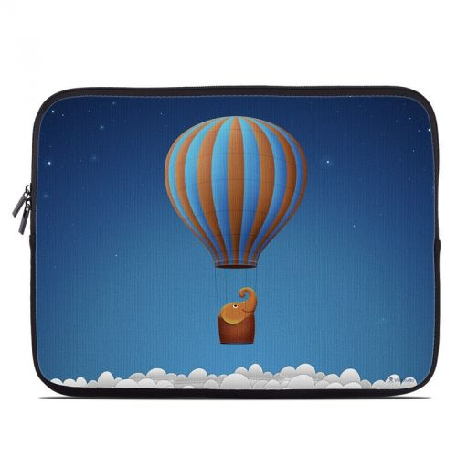 Flying Elephant Laptop Sleeve