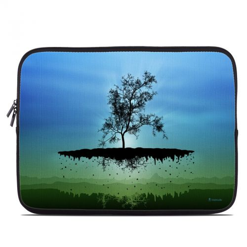 Flying Tree Blue Laptop Sleeve